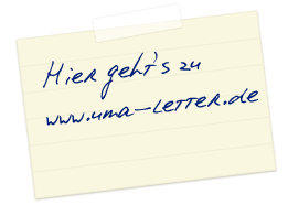 Den Link zu www.uma-letter.de finden Sie hier!