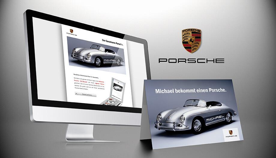 Porsche erzielt Kampagnen-Erfolg durch Weiterempfehler