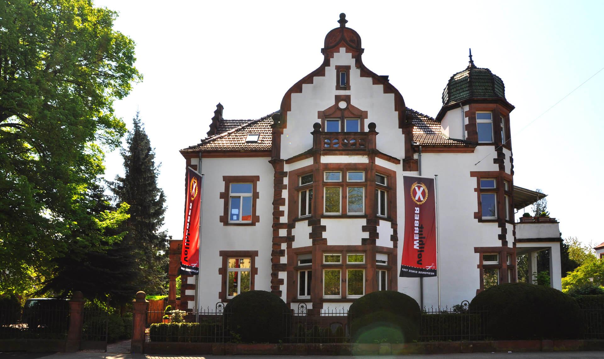 Unsere Agentur in der Villa Marckwardt